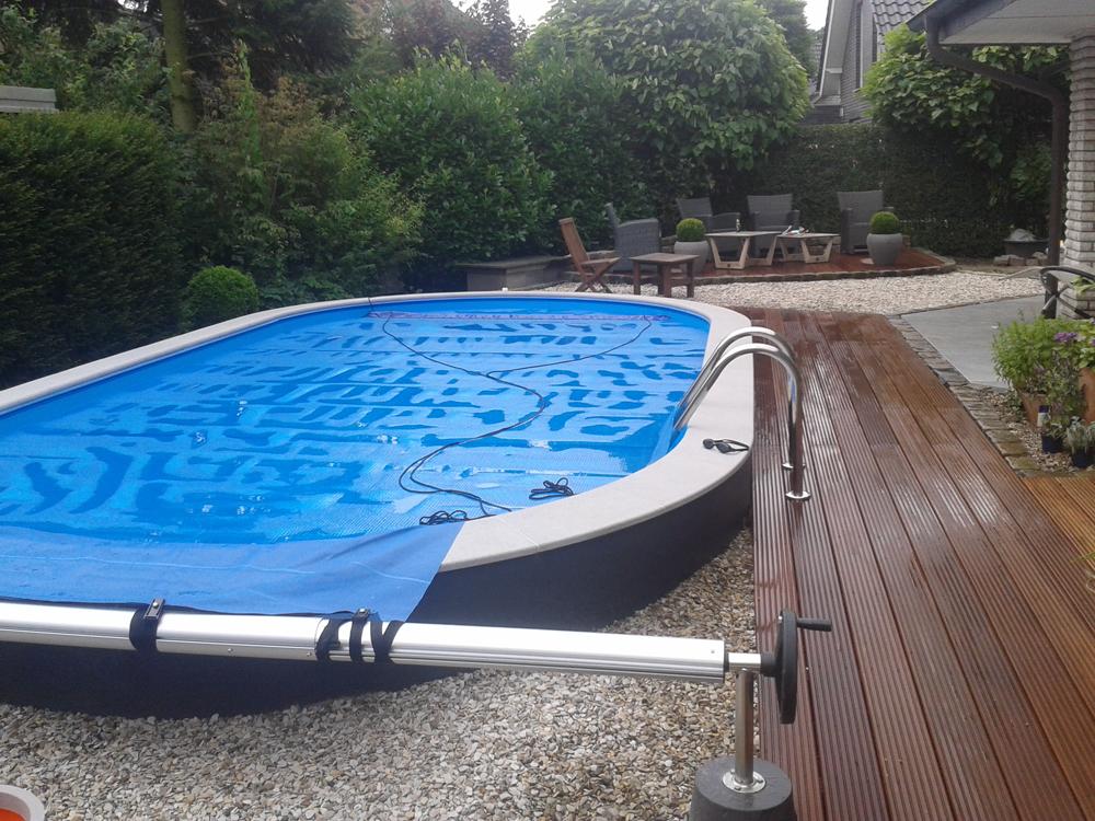 Einstieg & Abdeckung Schwimmbecken